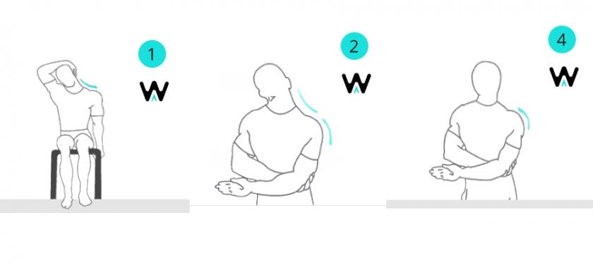 Tabla de estiramientos para después de correr