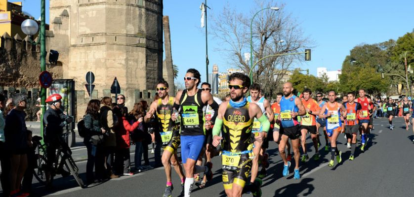 mejores ofertas en último descuento venta reino unido Maratón de Sevilla 2018, fecha, inscripción y recorrido