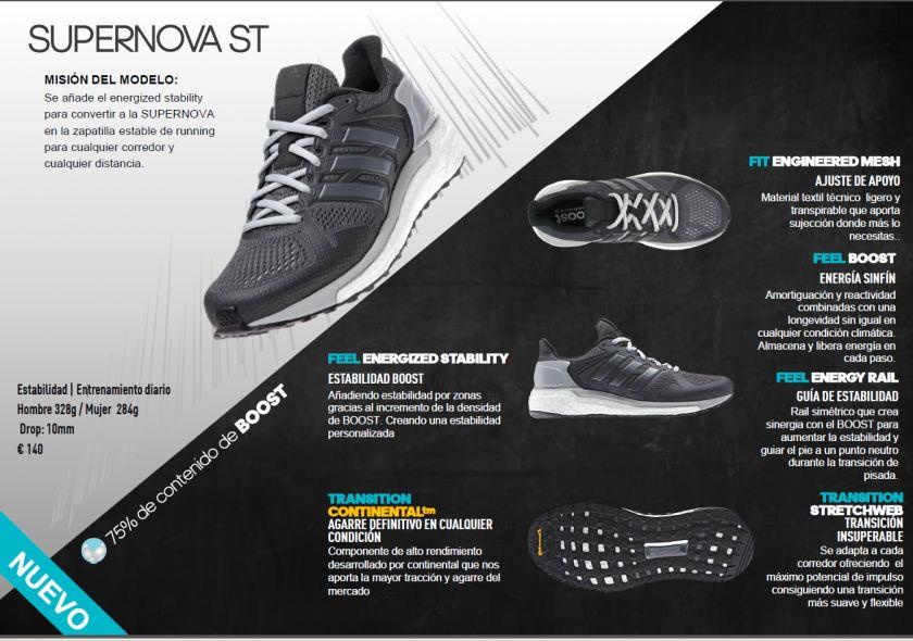 zapatillas adidas supernova st