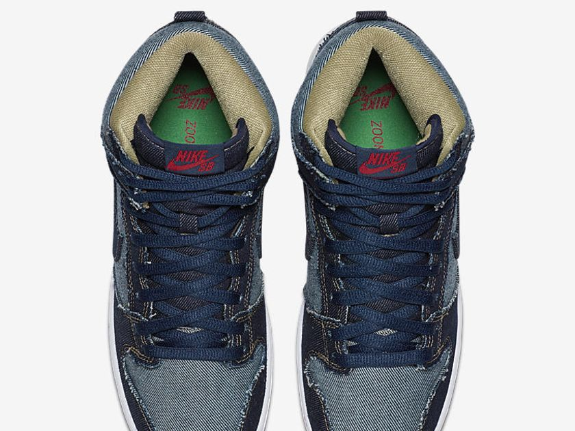 Nike SB Dunk HI OG Reese Denim