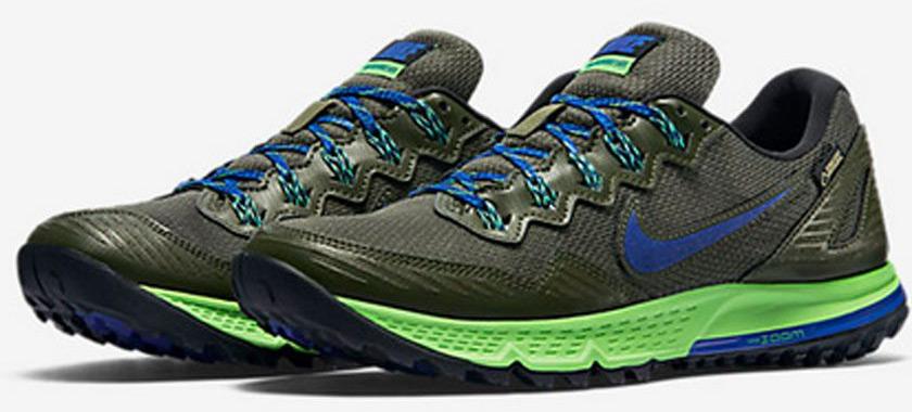Las mejores zapatillas de trailrunning 2017 - Nike Air Zoom Wildhorse 3 GTX