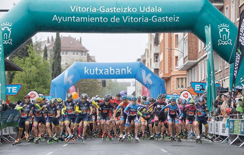 El EDP Vitoria-Gasteiz Maratón Martín Fiz 2017, en parrilla de salida y calentando motores - foto 2