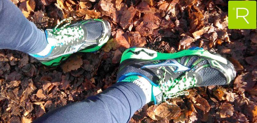 zapatillas mizuno trail