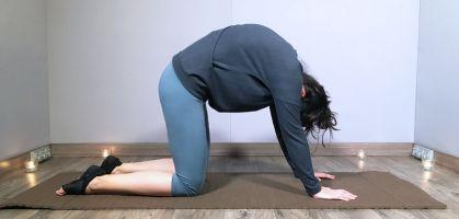 Rutina de yoga para dormir mejor
