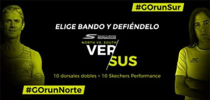«Skechers Performance Norte vs Sur» 2017, cara a cara con las zapatillas de running puestas