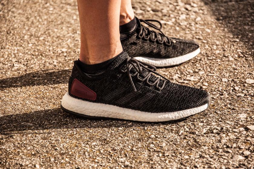 cc6d93fa456da La zapatilla todo en uno para cualquier momento del día. Review Adidas Pure  Boost ...