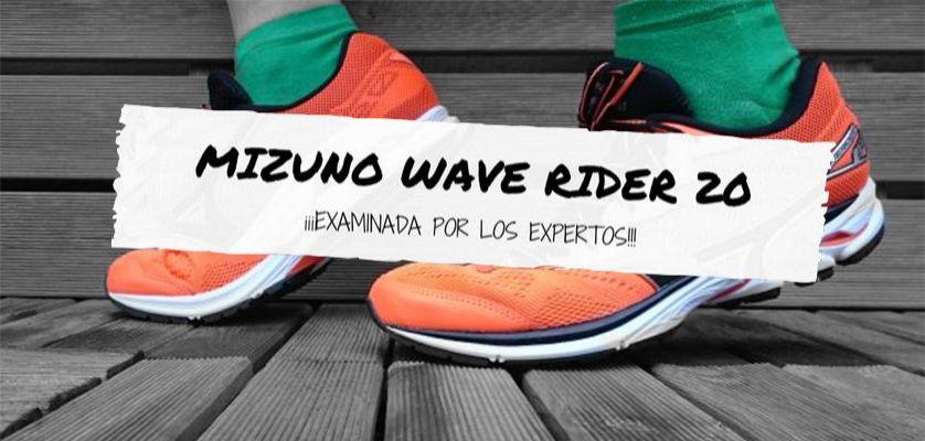 Mizuno Wave Rider 20, analizada por los especialistas del sector
