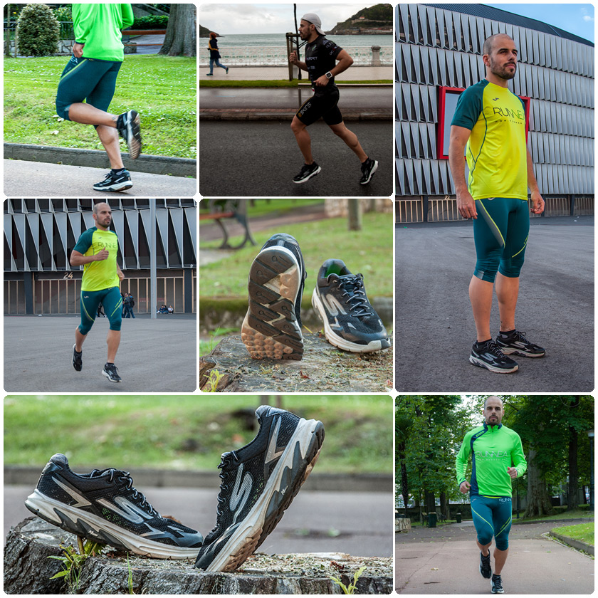 Review Skechers GOmeb Strada 2 - Unai Portillo - fotomontaje
