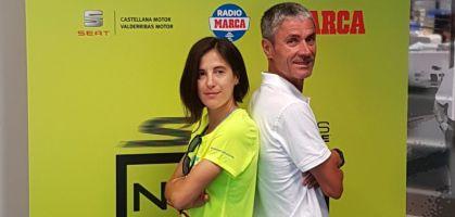 Martín Fiz y Raquel Gómez se retan en la presentación de la Skechers Performance Norte vs Sur