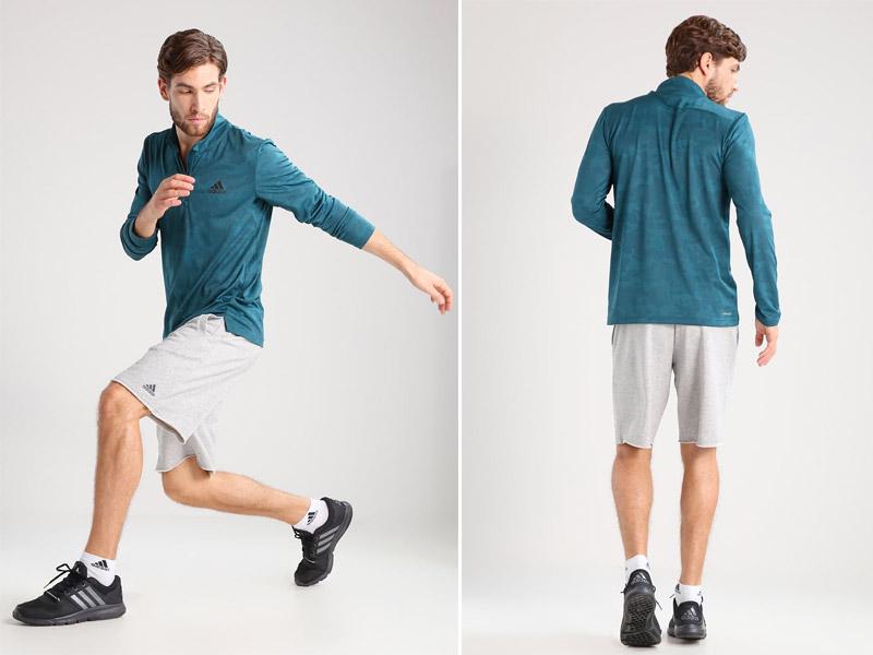 Outlet adidas para verano: 10 opciones de ropa deportiva y material para tus entrenos - adidas Workout (camiseta de deporte manga larga)