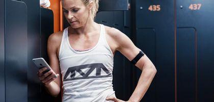 Polar OH1, sensor óptico de frecuencia cardiaca en el brazo