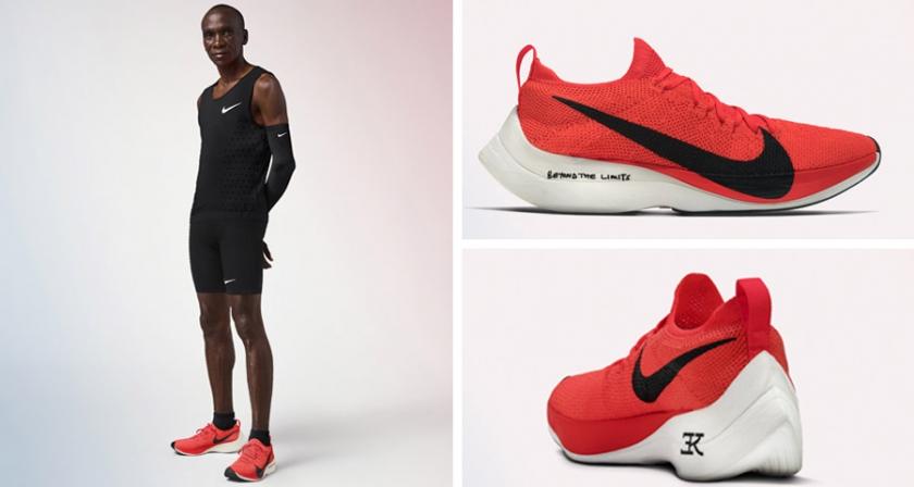 Nike Zoom Vaporfly Elite & Eliud Kipchoge - foto 2