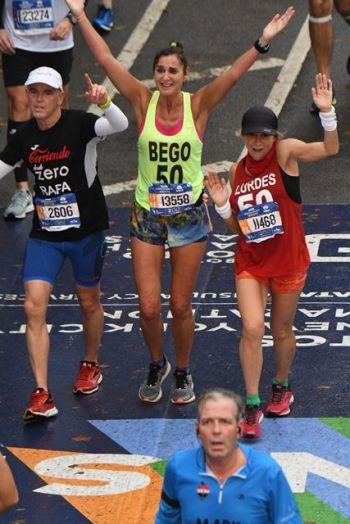 La recuperacion despues de una maraton-