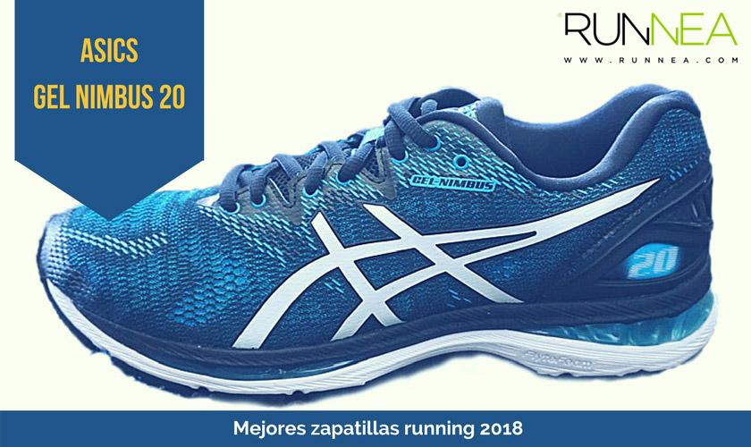 Las mejores zapatillas de running 2018 - ASICS Gel Nimbus 20