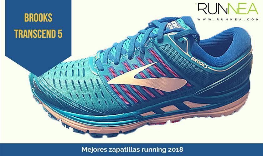 Las mejores zapatillas de running 2018 - Brooks Transcend 5