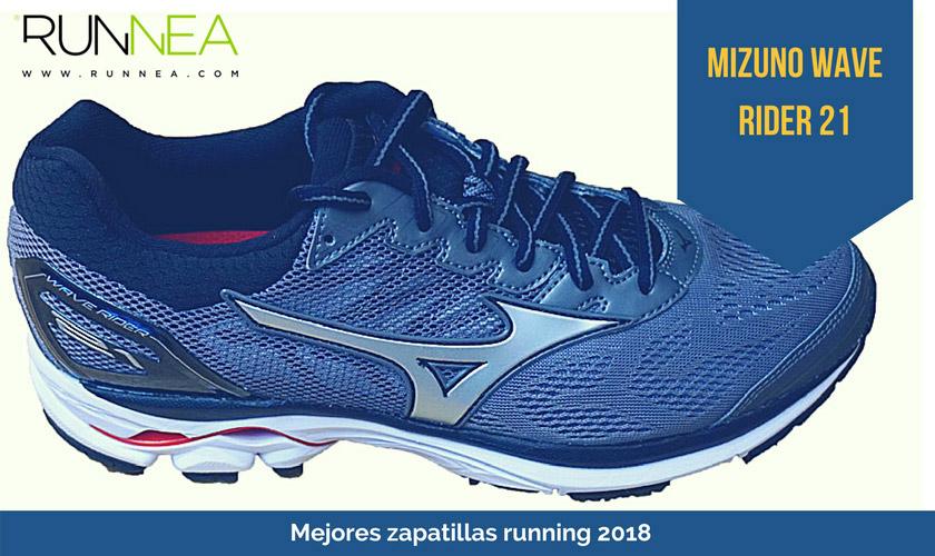 Las mejores zapatillas de running 2018 - Mizuno Wave Rider 21