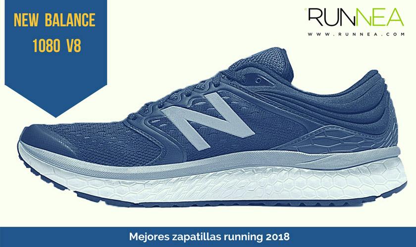 Las mejores zapatillas de running 2018 - New Balance Fresh Foam 1080v8