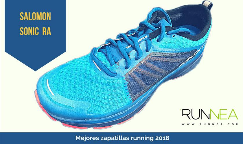 Las mejores zapatillas de running 2018 - Salomon Sonic RA