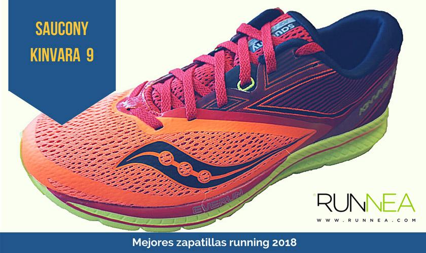 Las mejores zapatillas de running 2018 - Saucony Kinvara 9