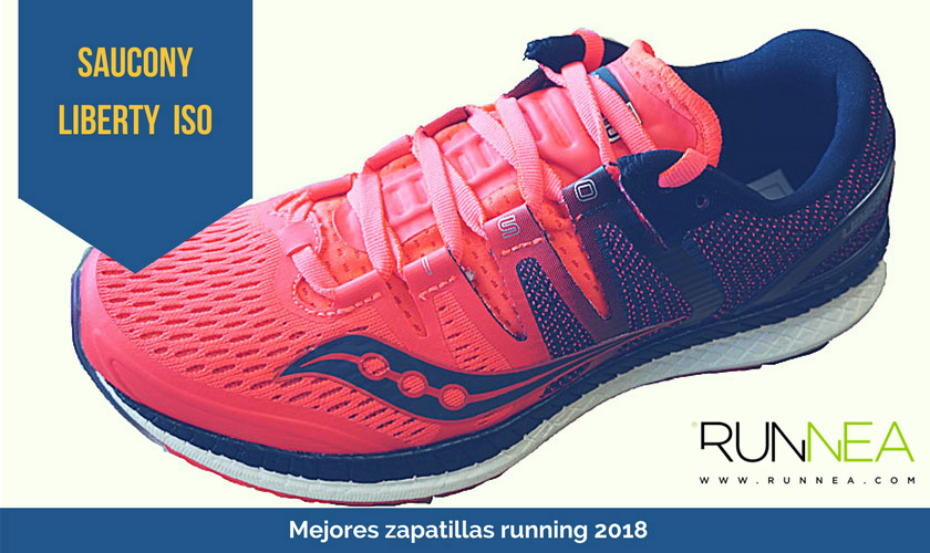 Las mejores zapatillas de running 2018 - Saucony Liberty ISO