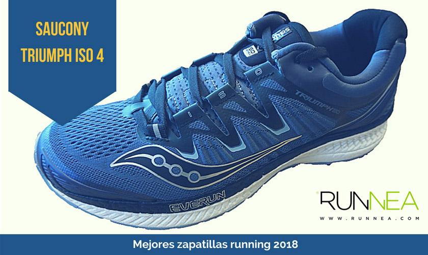 Las mejores zapatillas de running 2018 - Saucony Triumph ISO 4