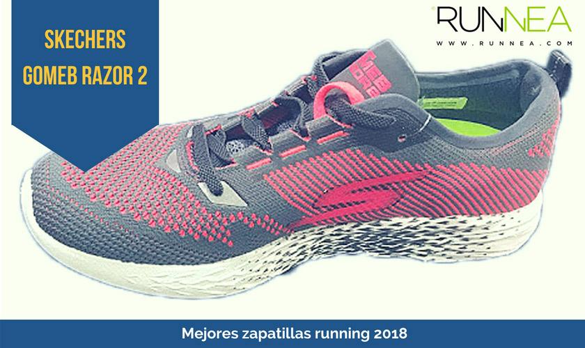 Las mejores zapatillas de running 2018 - Skechers GOmeb Razor 2