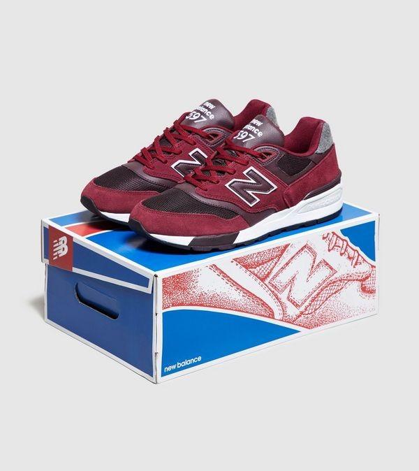 New Balance 597 rojo