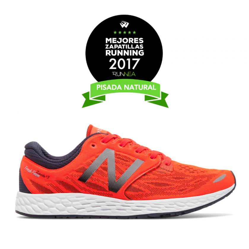 mejor zapatilla pisada natural 2017