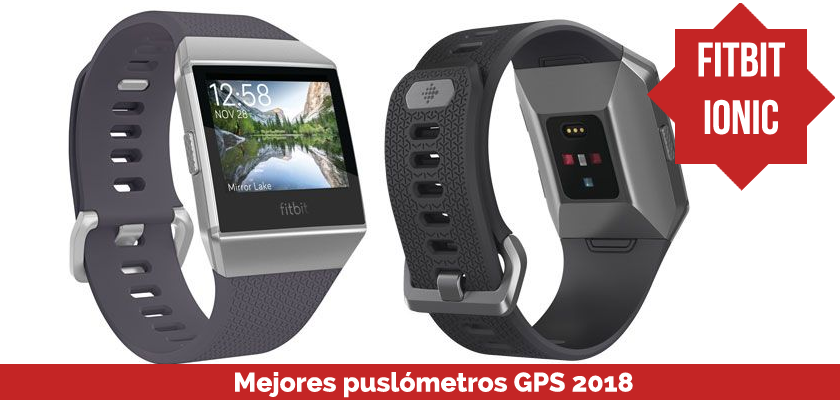 Los mejores pulsometros GPS 2018 - Fitbit Ionic