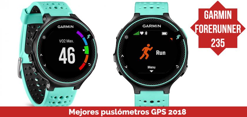 Los mejores pulsometros GPS 2018 - Garmin Forerunner 235
