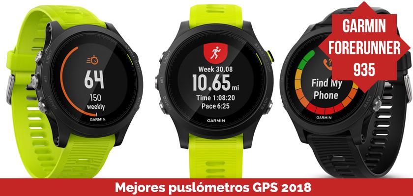 Los mejores pulsometros GPS 2018 - Garmin Forerunner 935