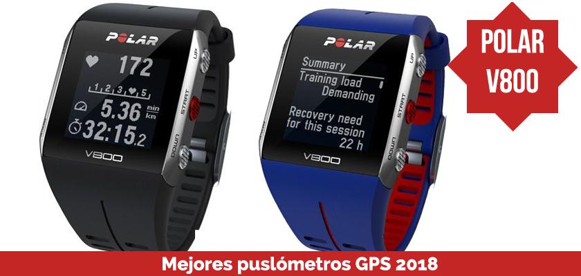 Los mejores pulsometros GPS 2018 - Polar V800