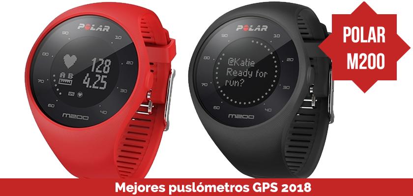 Los mejores pulsometros GPS 2018 - Polar M200