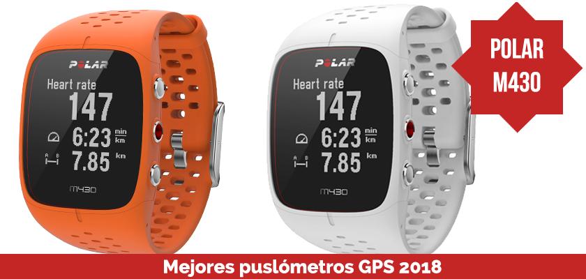 Los mejores pulsometros GPS 2018 - Polar M430