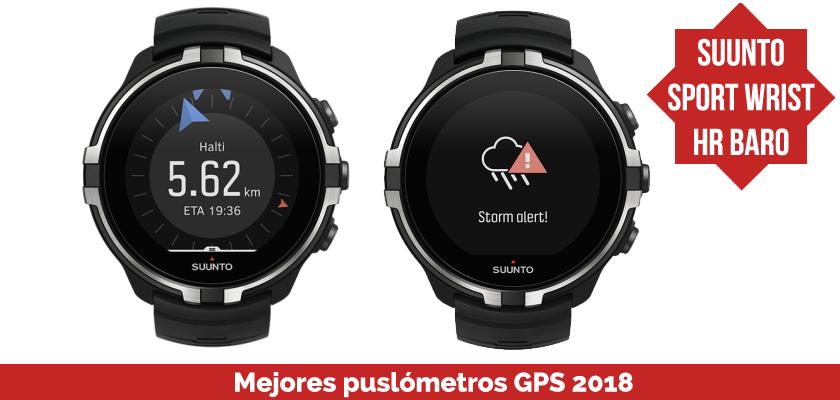 Los mejores pulsometros GPS 2018 - Suunto Sport Wrist HR Baro