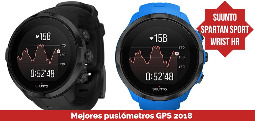 Los mejores pulsometros GPS 2018 - Suunto Spartan Sport Wrist HR