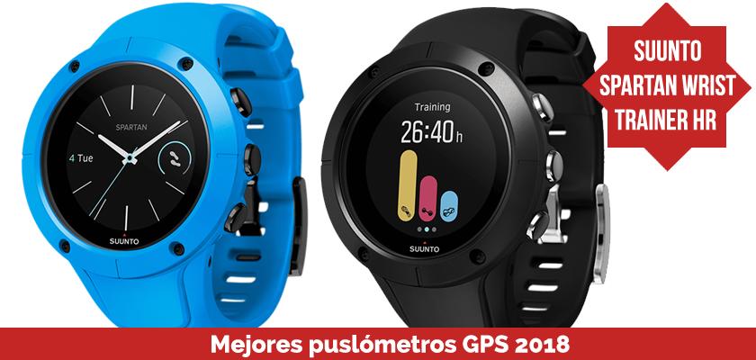 Los mejores pulsometros GPS 2018 - Suunto Spartan Wrist Trainer HR