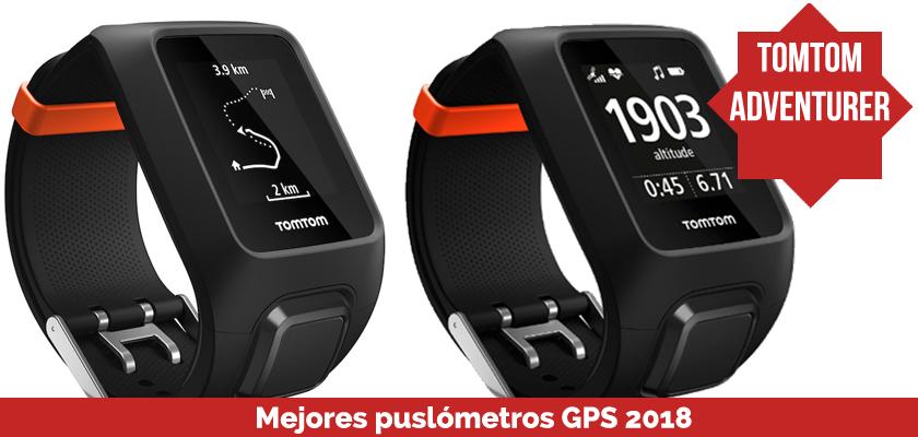 Los mejores pulsometros GPS 2018 - TomTom Adventurer