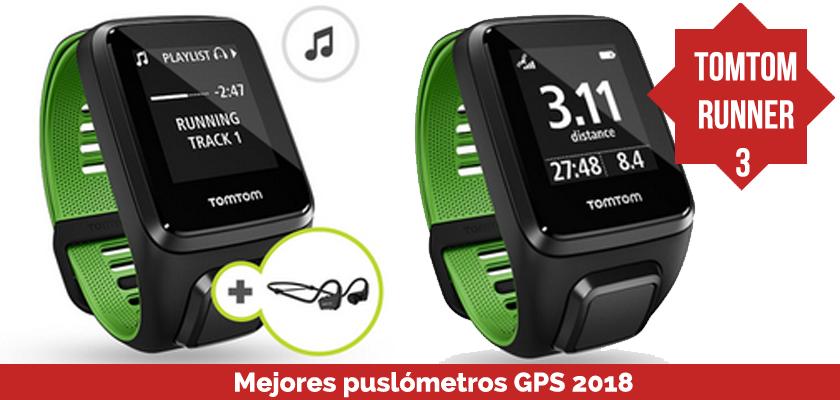 Los mejores pulsometros GPS 2018 - TomTom Runner 3