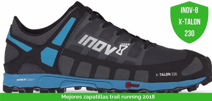 Las mejores zapatillas de trail running 2018 - Inov-8 X-Talon 230