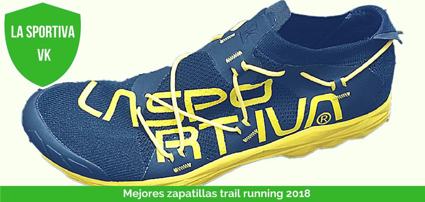 Las mejores zapatillas de trail running 2018 - La Sportiva VK