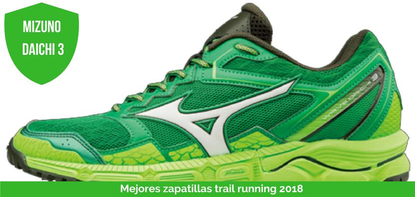 Las mejores zapatillas de trail running 2018 - Mizuno Wave Daichi 3