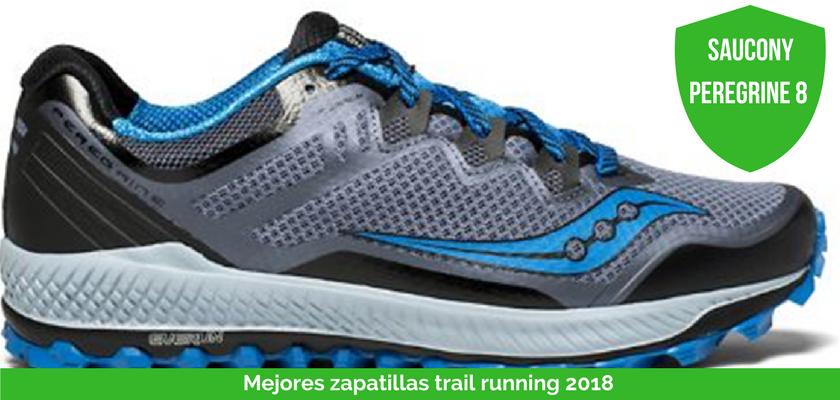 Las mejores zapatillas de trail running 2018 - Saucony Peregrine 8
