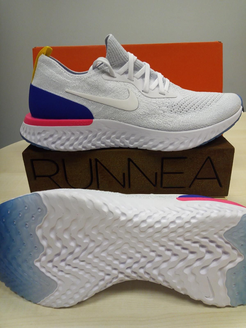 Review Zapatillas Epic Running Nike Flyknit Runnea React aw4at8