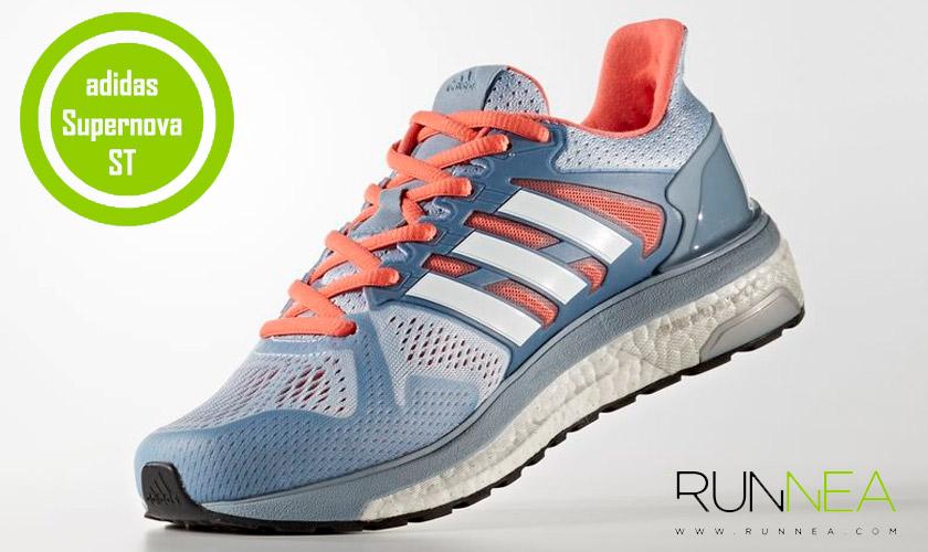 buy online faba9 59ae1 Las 20 mejores zapatillas para correr con sobrepeso - Adidas Supernova ST