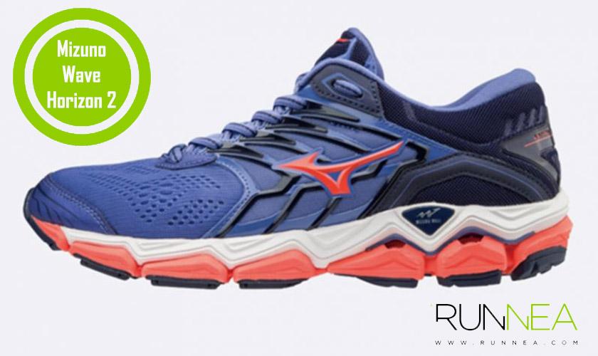 Las 20 mejores zapatillas para correr con sobrepeso - Mizuno Wave Horizon 2