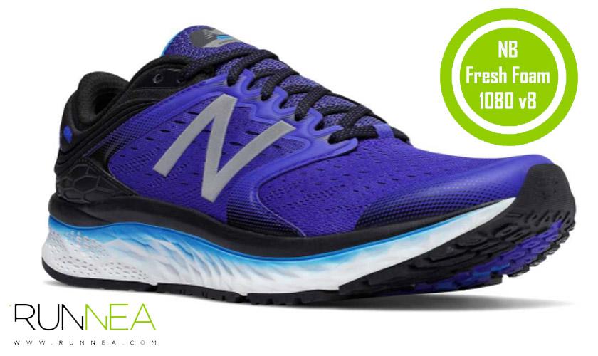 Las 20 mejores zapatillas para correr con sobrepeso - New Balance Fresh Foam 1080 v8