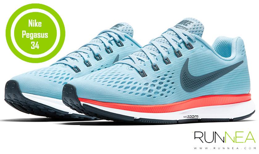 Las 20 mejores zapatillas para correr con sobrepeso - Nike Air Zoom Pegasus 34
