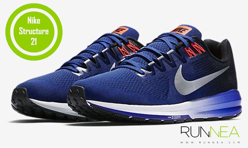 Las 20 mejores zapatillas para correr con sobrepeso - Nike Structure 21