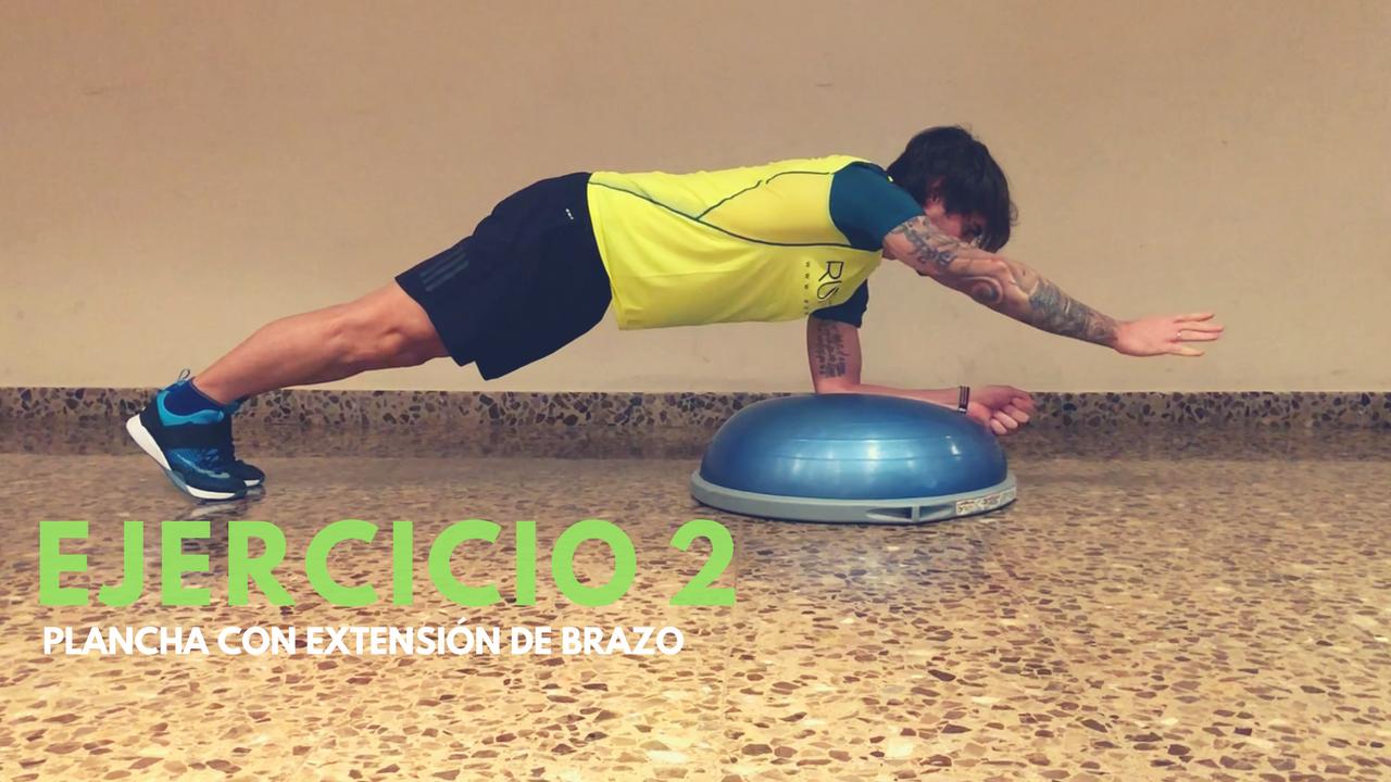 Lo 6 mejores ejercicios abdominales con bosu